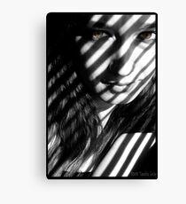 My Inner Zebra Canvas Print