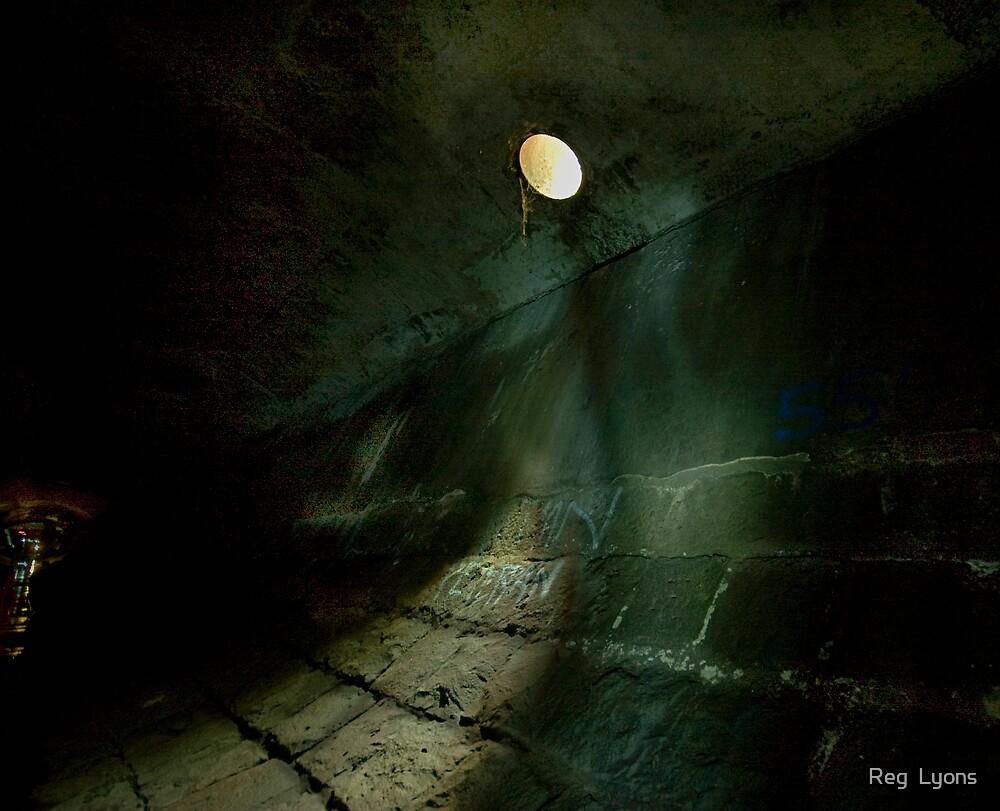 Subterranean Moon by Reg  Lyons