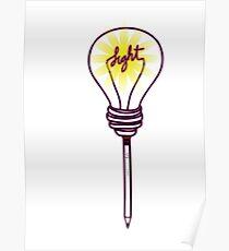 Una idea  una luz Poster