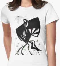 Unlikely Gardener - Series 1 Womens Fitted T-Shirt