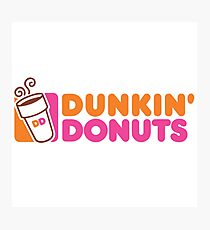 Dunkin Donuts Photographic Print