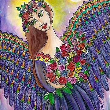 Indego Angel by Lesli Pringle-Burke by LesliBurke