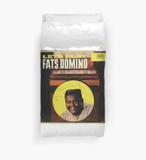 Lets Play Fats Domino, 50's Rock & Roll lp Duvet Cover