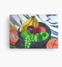 Fruit Bowl Still life Canvas Print