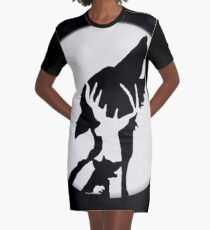 Moony,Wormtail,padfoot,&prongs Graphic T-Shirt Dress