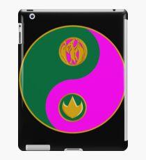 yinyang rangers iPad Case/Skin