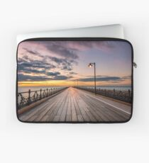 Ryde Pier Sunset Laptop Sleeve