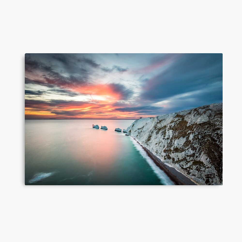 The Needles Sunset Canvas Print
