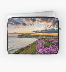 Freshwater Bay Sea Thrift Sunset Laptop Sleeve