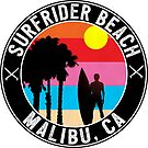 SURFRIDER BEACH MALIBU CALIFORNIA SURFING SURF SURFER BOOGIE BOARD OCEAN WAVES by MyHandmadeSigns