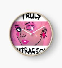 Jem and the Holograms Star Cute Kawaii 80's 1980's Retro Truly Outrageous Clock