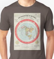 Flat Earth - Gleason's Map Unisex T-Shirt