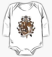 Octopus Coat Of Arms Heraldry One Piece - Long Sleeve