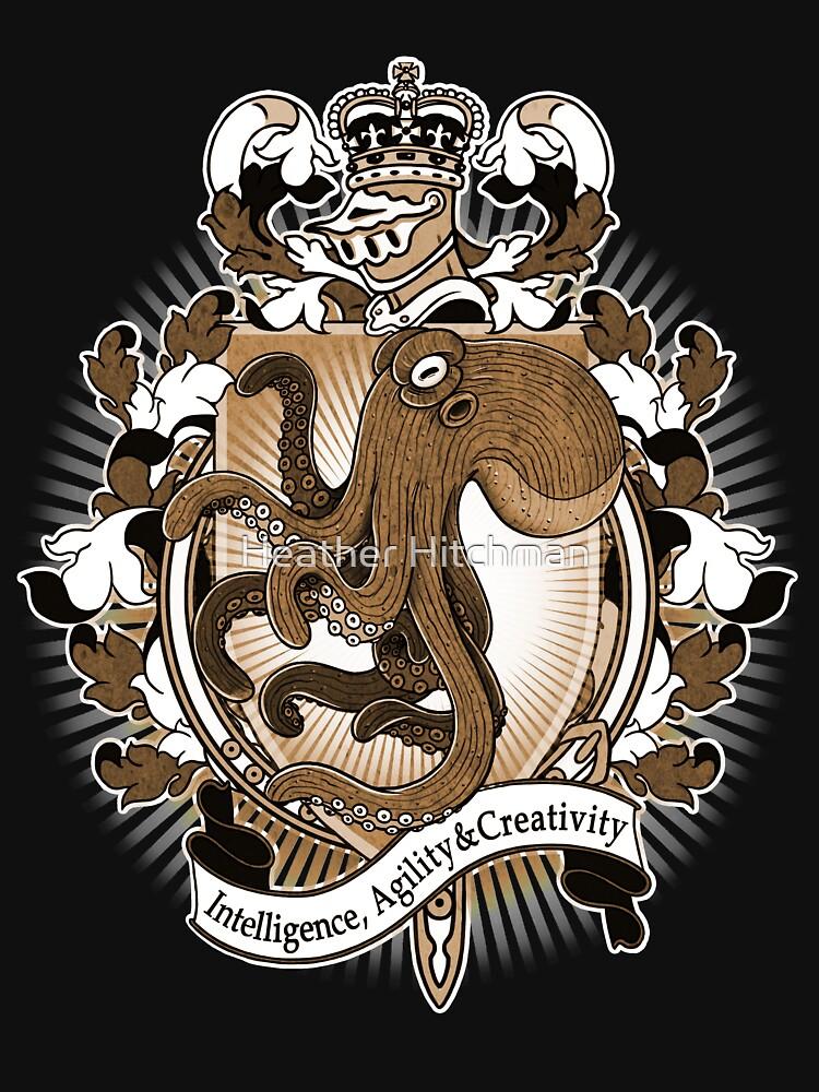 Octopus Coat Of Arms Heraldry by helloheath