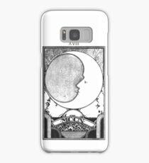 Moon Tarot Card - Occult Witch Tarot Samsung Galaxy Case/Skin