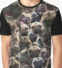 Pugs, not drugs Graphic T-Shirt