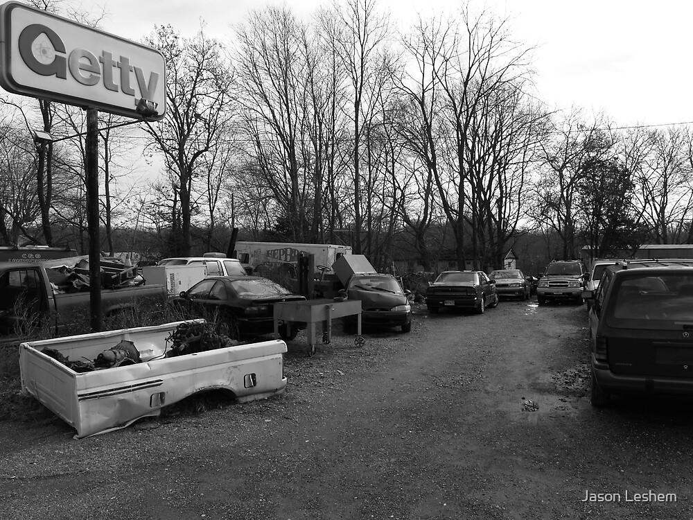 dead cars by Jason Leshem
