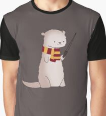 Harry Pawter Otter  Graphic T-Shirt