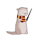 Harry Pawter Otter  by Stacey Roman
