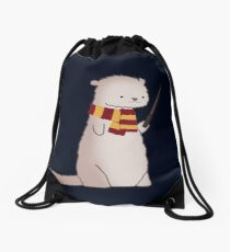 Harry Pawter Otter  Drawstring Bag
