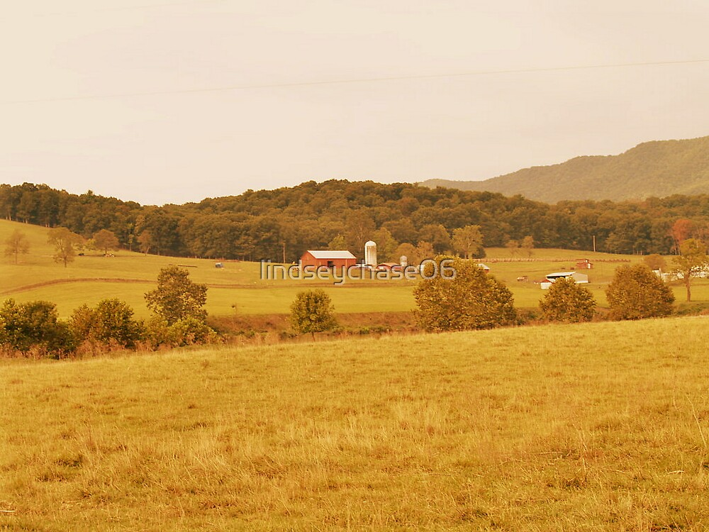 Mountain Barn by lindseychase06