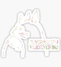Studio Ghibli Totoro Floral Sticker