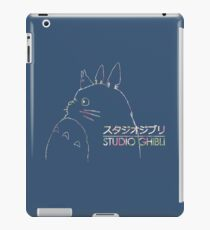Studio Ghibli Totoro Floral iPad Case/Skin