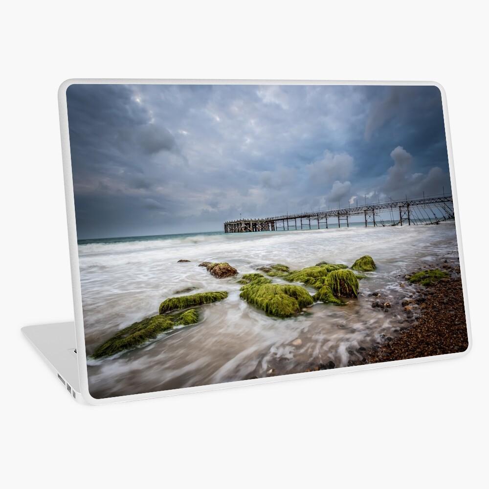 Totland Pier Laptop Skin