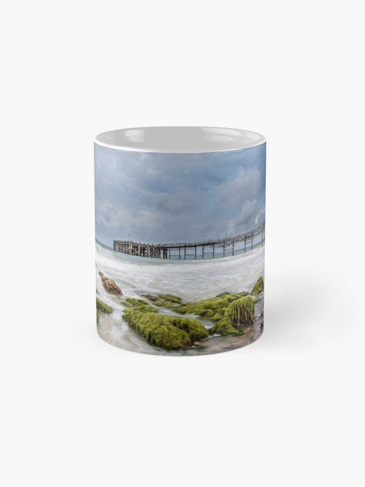 Alternate view of Totland Pier Mugs