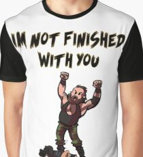 Im Not Finished With You! Strowman Graphic T-Shirt