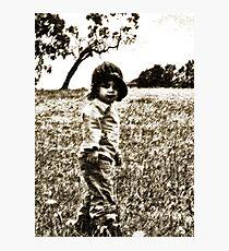 Unposed kids photography Photographic Print