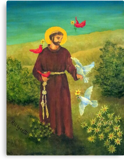 St. Francis of Assisi by Allegretto