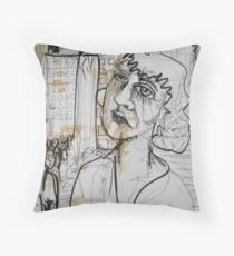 Swallowed Throw Pillow