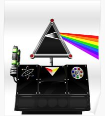 This Island Earth Interocitor Dark Side Prism Poster