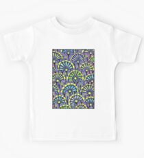 ABSTRACT FLOWER: Psychedelic Print Kids Tee