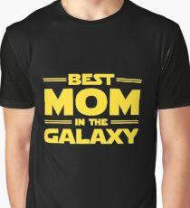 Best Mom in The Galaxy Graphic T-Shirt