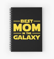 Best Mom in The Galaxy Spiral Notebook