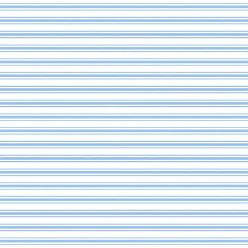 Mattress Ticking Wide Striped Pattern in Pale Blue and White by podartist