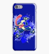 Greninja Makes A Splash iPhone Case/Skin
