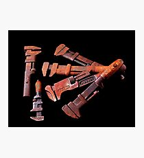 Six Wrenches Photographic Print