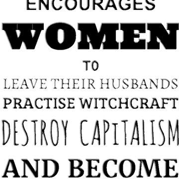 Feminism Encourages... Lesbians by comeedeebee