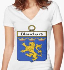 Blanchard  Women's Fitted V-Neck T-Shirt