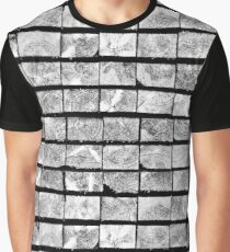 Squares Of Wood Graphic T-Shirt
