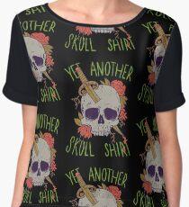 Yet Another Skull Shirt Women's Chiffon Top