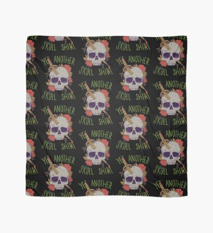 Yet Another Skull Shirt Scarf