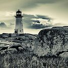 Peggys Cove Lighthouse by kenmo
