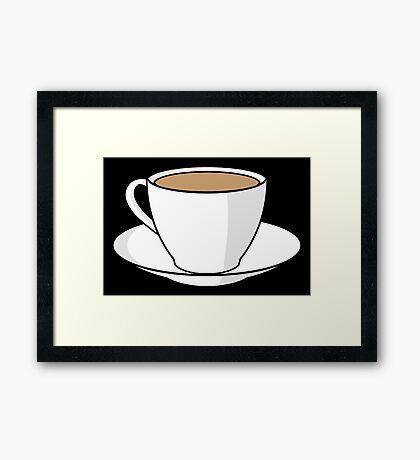 NDVH Tea Cup Framed Print