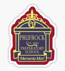 Prufrock Preparatory School Sticker