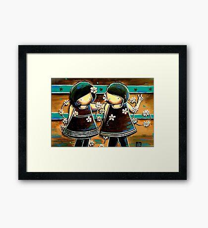 Daisy Chains Framed Print