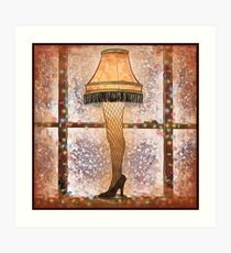 Fra-gee-lay, Ode to A Christmas Story Art Print